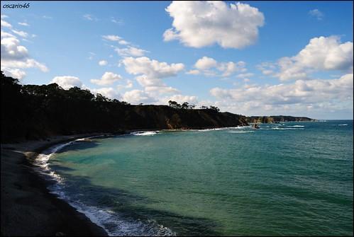 Vistas mirador playa de Torbas