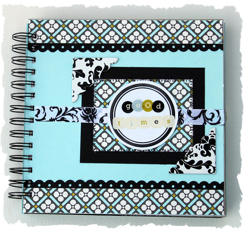 """Good Times"" Chipboard Scrapbook Album"
