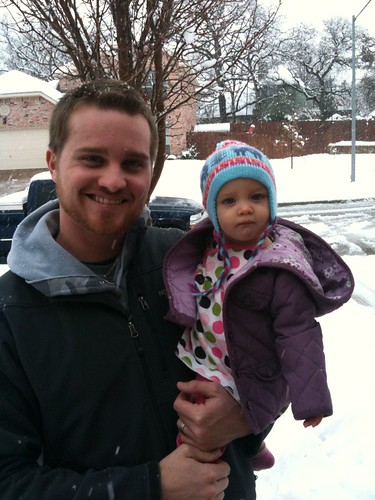 daddy and kinley