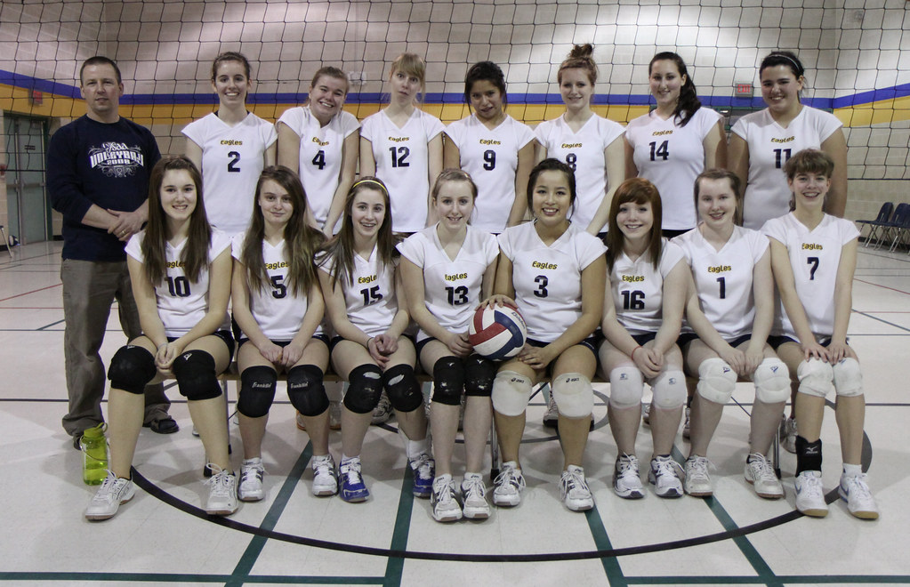 Junior Girls Volleyball Team