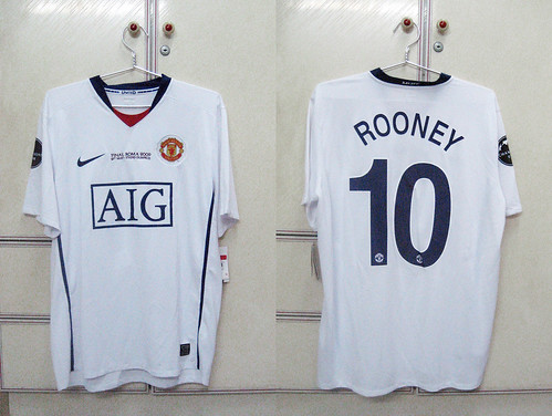 Manchester United 2008-2009 UCL Final S/S (ROONEY)