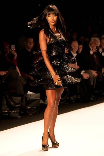 ny fashion haiti fringe mercedesbenz naomi campbell runway fashionweek chairty