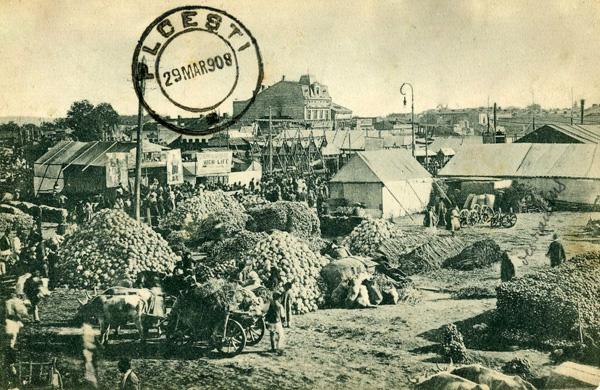 Oborul din Ploiesti - 1908