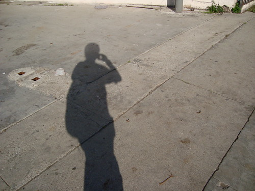 Shadow of Me Walking