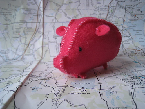 Little Pink Pig by SuperDelights.