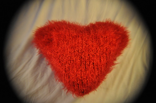 A warm and woolly heart