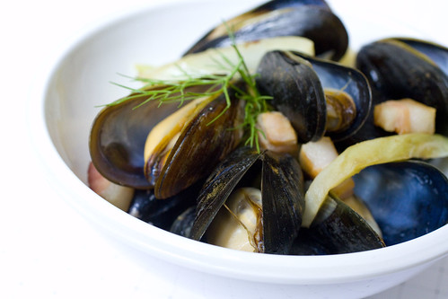 Remy Mussels with Bacon and Fennel  3