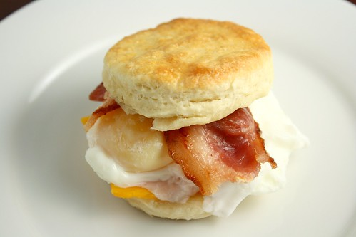 Homemade English McMuffin