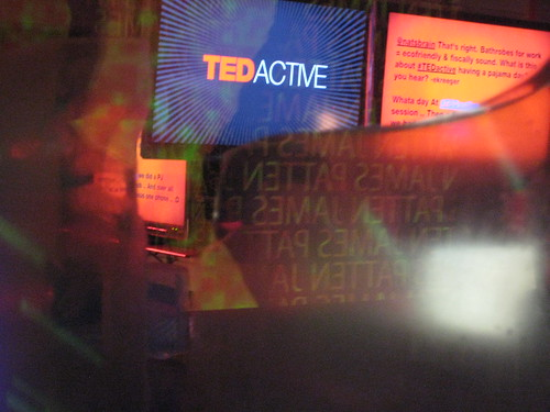 TEDactive aerogel installation