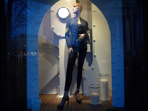 Vitrines Ralph Lauren - Paris, février 2010
