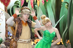 Silly Faces (Lizzi Farley) Tags: disneyland tinkerbell terence pixiehollow