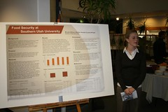 Image of presentation: Food Security among Students, Faculty, and Staff of Southern Utah University