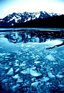 Ice  Summer, Alaska, Prince William Sound