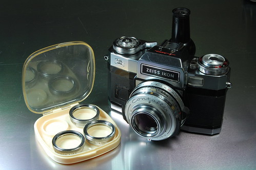 Image result for zeiss ikon contaflex 1:1 lens set