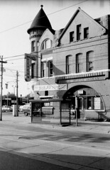Historic photo from 1986 - Palace Hotel (then Tavern, then Arms) 950 King St W Built in 1890, attributed to F.H. Herbert, Architect in Stanley Park