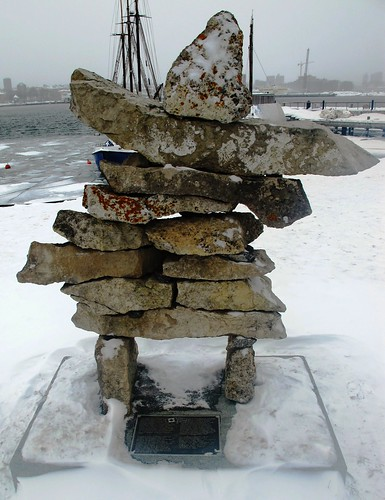 Winter Olympics Inuksuk from Canada in Norway #1