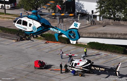 N436CM Carolinas Healthcare System Eurocopter EC-135 P2+