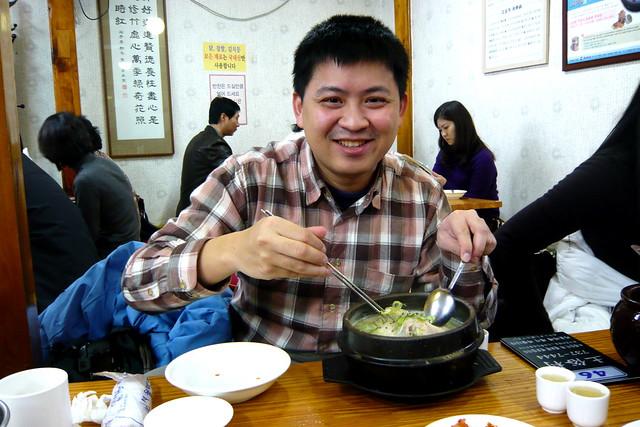 首爾 土俗村蔘雞湯