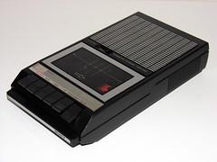 Sony Cassette Recorder (vicent.zp) Tags: sony cassette recorder tape vintage design portable grabadora