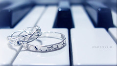 Love is but the discovery of ourselves in others, and the delight in the recognition. (Death_Extrication) Tags: love other couple piano marriage ring delight recognition discovery ourselves