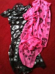 McQueen scarfs