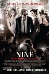 Nine poster movie