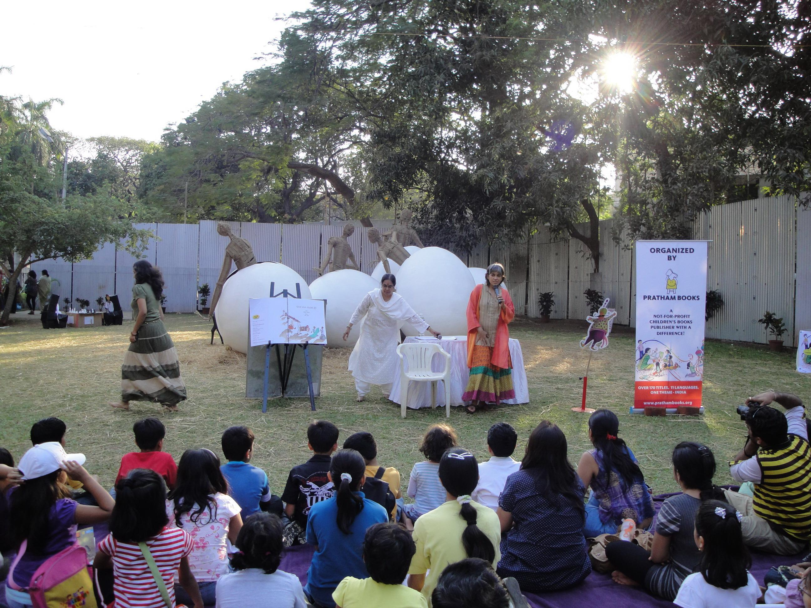Dramatized Reading with Ratna Pathak Shah at the Kala Ghoda Art Festival