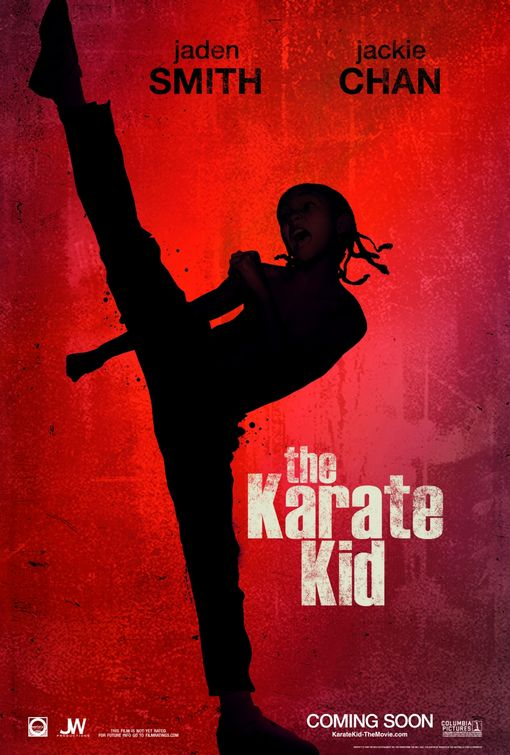 The Karate Kid 2010 Movie poster