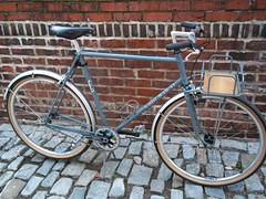 Custom Bicycle/Rack Combo (guidedbybicycle) Tags: city bicycle handmade steel rack commuter singlespeed 650b