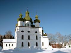 Church of St. John the Baptist (andrey panisko) Tags: digital россия зима canon30d каргополь архангельскаяобласть