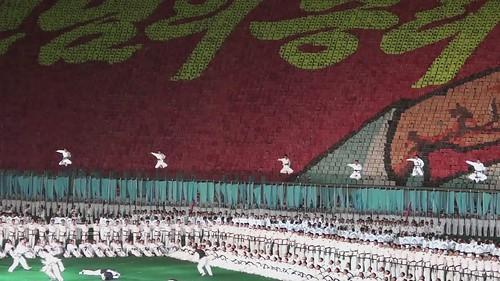 Arirang Mass Games part3 North Korea