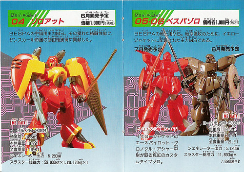 Bandai MS in Pocket - Catalog Page 5