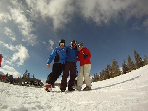 Go Pro HD Blue Sky Breck