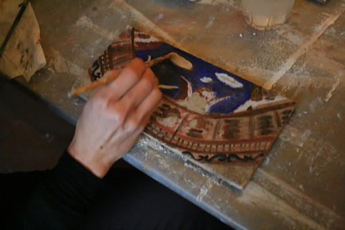 Learn fresco painting in Italy