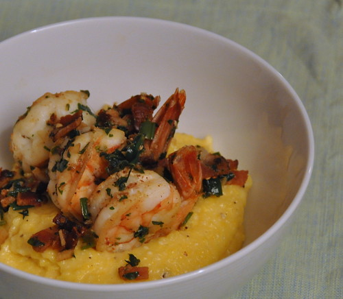 4400671004 2180e069b0 City Living, Country Cookin: Shrimp and Grits, Bobby Flay style