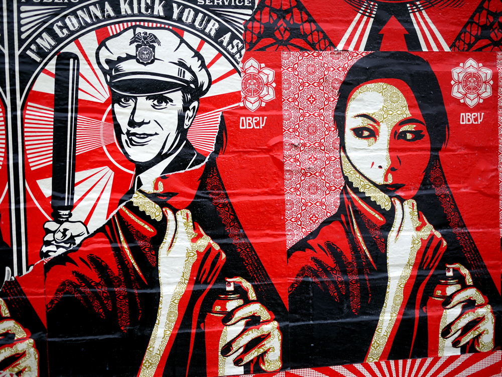 Shepard Fairey Supply Demand Northside