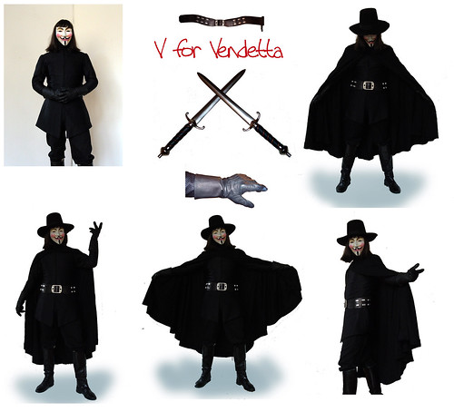 I still have the doublet pattern (drafted it myself) and can point you to nearly everything else except the belt rig which I can no longer make due to lack ...  sc 1 st  the RPF & V for Vendetta
