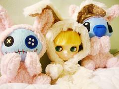 Aury, Scrump, and Stitch