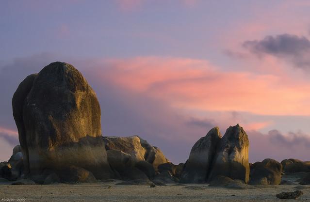 Sunset in Thailand by Marina Nozyer