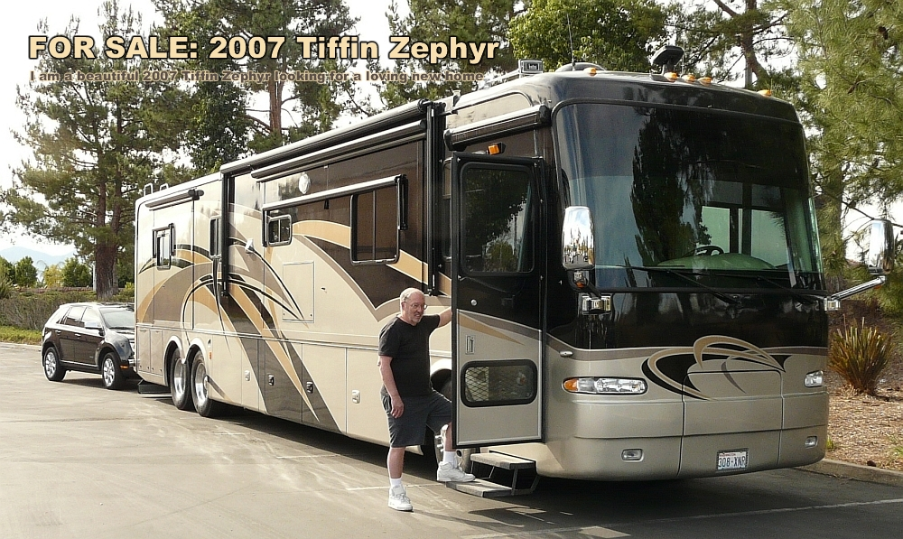Used Tiffin Zephyr - 2007 - FOR SALE