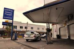 Servo Rosebery (highplains68) Tags: ford taxi sydney australia nsw falcon newsouthwales petrol ba aus servo servicestation rosebery gardenersroad
