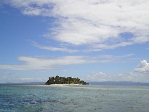 远眺无人岛