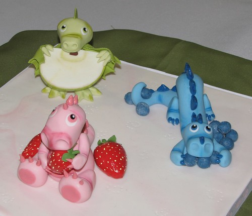 Fruit Dragons by Ashlee Trotter