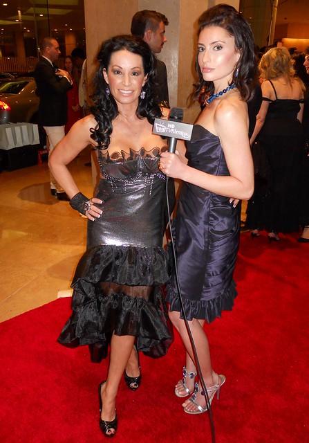 CC Perkinson, Samantha Gutstadt, Oscar Parties 2010