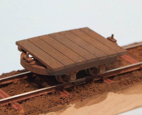 Finished O14 platform wagon
