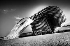 Lyon Airport Rail Station St Exupery, Lyon, Savoie, France.