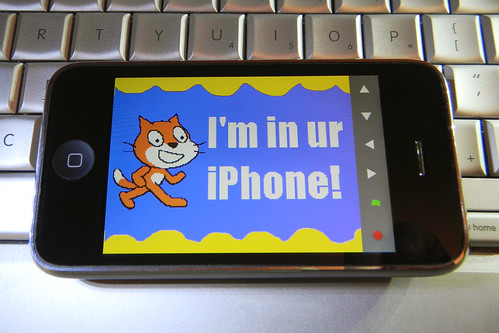The Scratch Viewer for iPhone