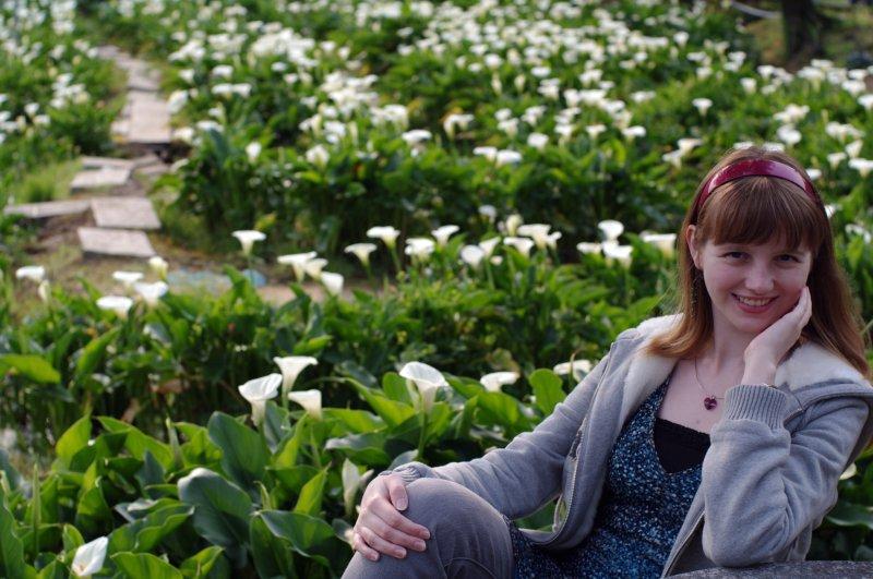 Love in flowers (帶著老婆與fa43鏡去郊遊)