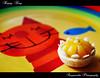 Happy King / จักรพรรดิแสนสุข (ขนมจ่ามงกุฏ) (AmpamukA) Tags: blue wedding red food fish cat dessert thailand foods rainbow dish sweet glad thai meal crown sweety อาหาร kanom ไทย ขนม แมว ปลา น้ำเงิน จาน หวาน ว่าง ของ สายรุ้ง แดง ampamuka jamongkut จ่ามงกุฏ