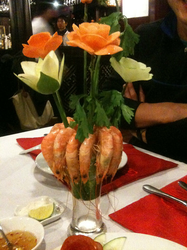 Dinner on Halong Phoenix Cruiser